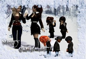 +Merry Christmas+Family Pic 2013+ by WickedChibi