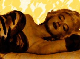 Marilyn yellow by GreciaLondres