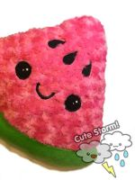 Kawaii watermelon wedge by The-Cute-Storm