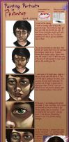 Painting Portraits in Photoshop pt.2 by Bekuhz