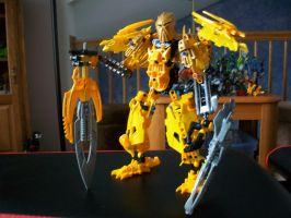 bionicle Mata-Nui-Ra 3 by mcdn