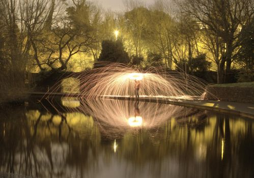 Sliced Reflections by BMC-Photography