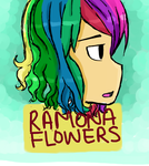 Ramona flowers by moondrop1XD