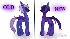 tfp mlp soundwave old and new by tf999dreams