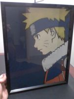 Naruto Color Stencil by Branbot