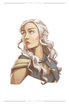 Mother of Dragons by sapphire-feather
