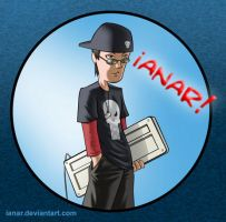 my cartoony me by iANAR