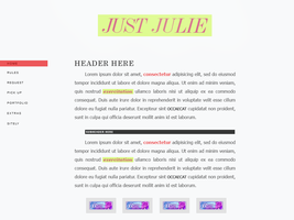 Just Julie (client) by Recite