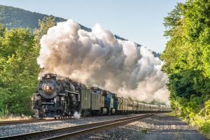 Steam Under Morning Light by sullivan1985