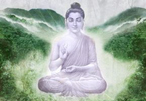Lord Buddha by Valleysequence