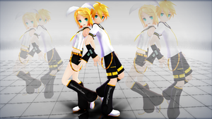 Kagamine Twins by AwesomePal