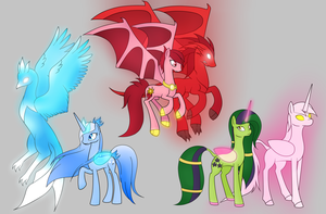 Fanart MLP fanfic _ by: Seeraphine by Mutant-Girl013