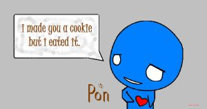 Pon's Cookie by The-Nyu-Kid