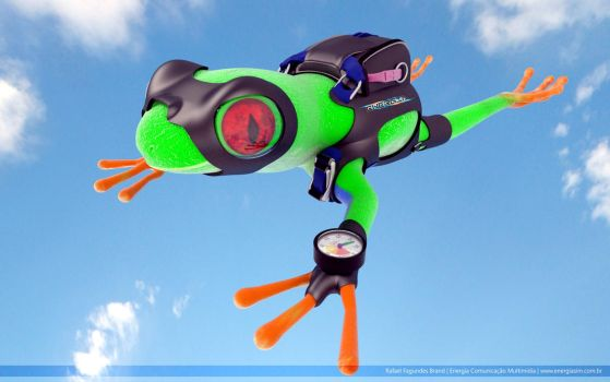 RFB 349 - Parachuting frog! by NEO3