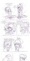 Sugar and Pranky- Ballet Class by Hasana-chan