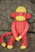 Spot the sock monkey by Mab-overthrown