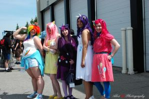 My Little Pony Group by kawaiilove