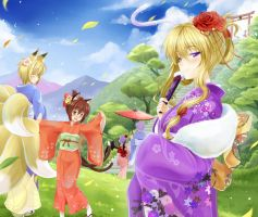....Happy YAKUMO Year2012.... by okitakung