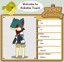 PKMN Crossing App - Yue by Choconom