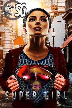 Supergirl by SolarGlitch