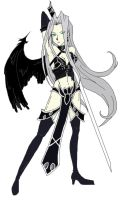 Female Sephiroth Clone by SlightPhobia