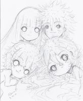 The NaruHina Family-Bedtime by NelNel-Chan