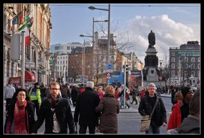 O'Connell Street by MissAisling
