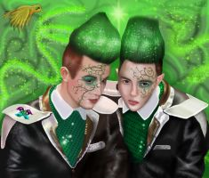 Jedward and the Beanstalk by Shinymane1