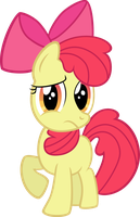 Concerned Applebloom by qazwsx302