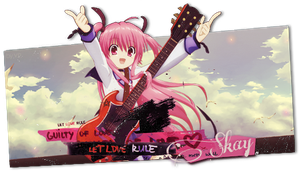 Yui in the sky with diamonds -Signature- by xxxypdesignxxx
