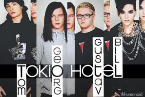Tokio Hotel by clauuu