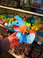 New Tomy Mudkip Plush! by ryanthescooterguy