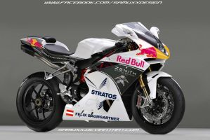 MV Agusta F4 Felix Baumgartner Tribute by SAMUXX