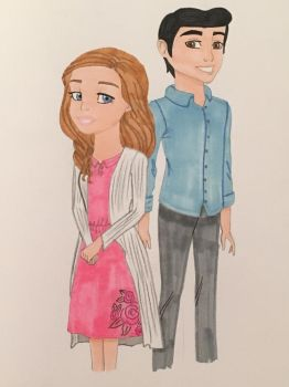 Descendants: Juliette and Antonio by madiquin185