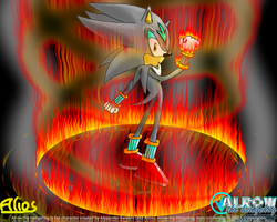 Alrow on Fire by Alrow
