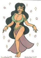 Belly Dance Princess by AnneMarie1986
