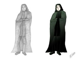 Snape-a-doodle by ImperialJedi