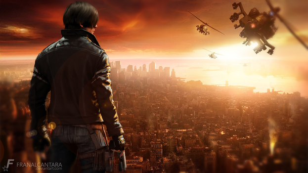 The Legend - Leon S. Kennedy by FranAlcantara