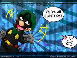 Mario: The New Guy says.... by saiiko
