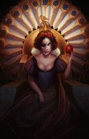 Snow white by Amanda-Kihlstrom
