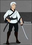 Commission - Sinos The Stormbound by NikkiWardArt