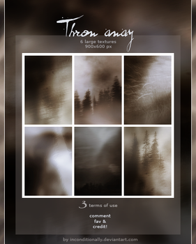 throw away: textures set by inconditionally