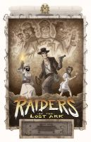 Raiders of the Lost Ark by OtisFrampton
