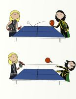 .That's not how you table tennis. by bababug