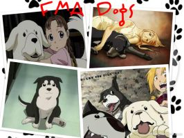 FMA Dogs by Tentailedbeast