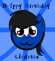 Birthday Gift for Klodette by Cogs-Fixmore