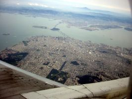 Bay Area Bird's Eye by cStok