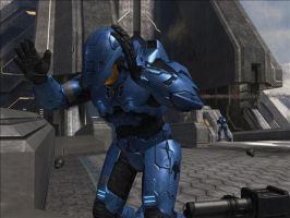 Me, Halo 3, Buuusted XD by Robotlouisstevenson