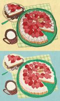 Food - Strawberry Tart by PPOMO