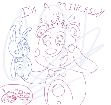 Funtime Freddy is best Disney princess by SonicandShadowfan15
